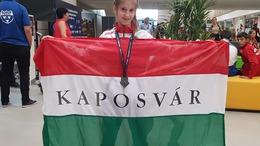 Fáth Laura Európa-bajnoki ezüstérmes