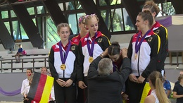 Taroltak a németek a lovastorna junior Európa-bajnokságon