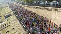 A kaposvári húsüzem is támogatta a nagy budapesti félmaratont