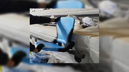 Helyére került az első szék a Kaposvár Arénában