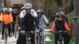 Százhúsz fős túrával nyílt meg a bringás szezon