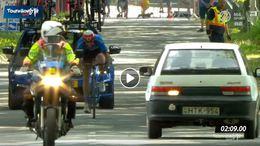 Idén is feltűnt egy váratlan vendég a Tour de Hongrie siófoki szakaszán