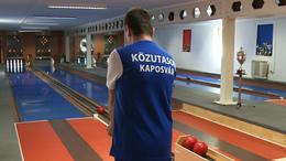 Győrben maradtak alul a kaposvári tekések