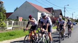 Edzésben a Kaposvári Kerékpáros Klub