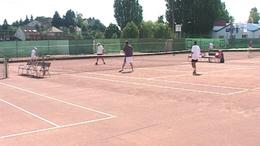Kaposvári siker a teniszpályán
