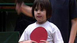 Válogatott fiatal ping-pongosok