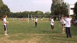"""Parkröplabda, foci, 24 órás """"tekerés"""""""