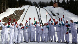 Tízméteres hó a téli olimpia helyszínén