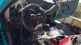 Kigyulladt egy autó műszerfala