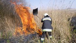 Munkában a tűzoltók