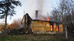 Tűz Felsőkakpusztán