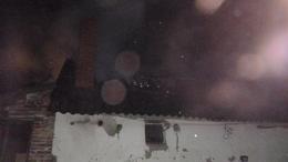 Háztető lángolt Kaposvár mellett