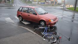Kerékpárosok veszélyben