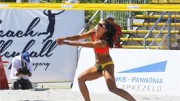 Harmincéves a magyar női strandröplabdázás legeredményesebb játékosa