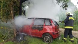 Lángoló autók, balesetek
