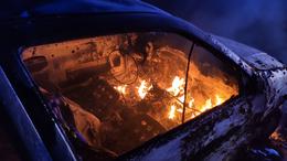 Lángoló autók