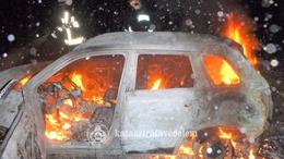Kiégett egy terepjáró Kaposvár határában