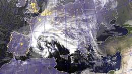 Mediterrán ciklon alakítja a következő napok időjárását