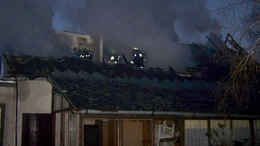 Leégett egy családi ház Balatonfenyvesen