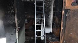 Lakóházak lángoltak a Balatonnál