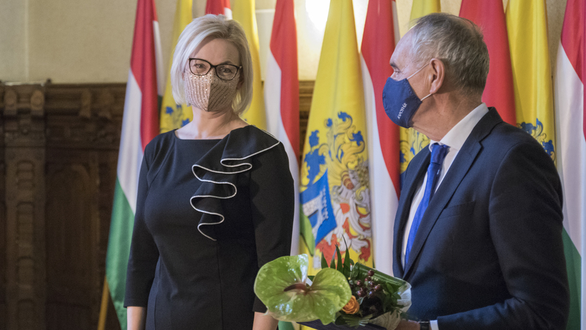 Nagyné Horváth Mónika, a Polgármesteri Hivatal Titkársági Igazgatóság népjóléti referense