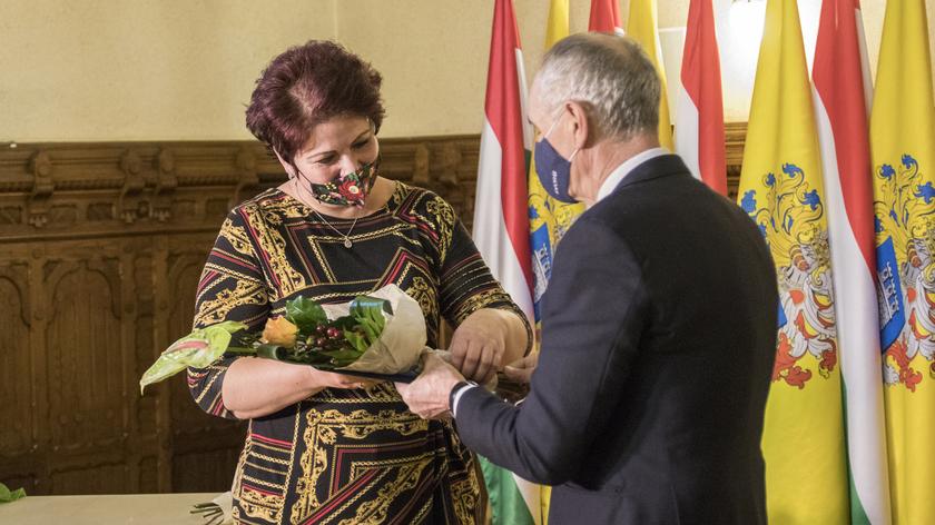 Baloghné Kalocsa Tünde, a Polgármesteri Hivatal Gazdasági Igazgatóság pénzügyi ügyintézője