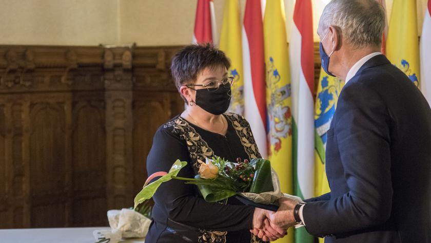 Gábor Mária Magdolna, a Gyöngyfa Napközi Otthon gyógypedagógusa