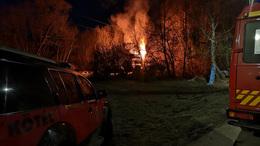 Nagyfeszültségű villanyvezeték okozott tüzet
