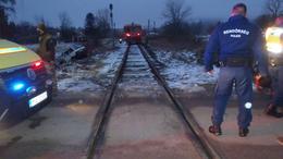 Vonat és személyautó ütközött össze Tabnál