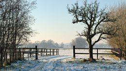 Hétfőn még folytatódik a hideg téli idő