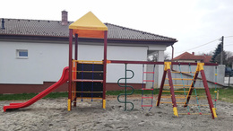 A hétvégén nyit a megújult kaposfüredi játszótér