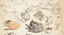 Egymillió forint felett kelt el egy Rippl-Rónai-akvarell