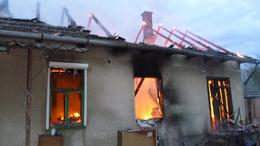 Leégett egy családi ház Kisberényben