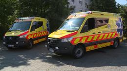 Új mentőautók érkeztek Kaposvárra