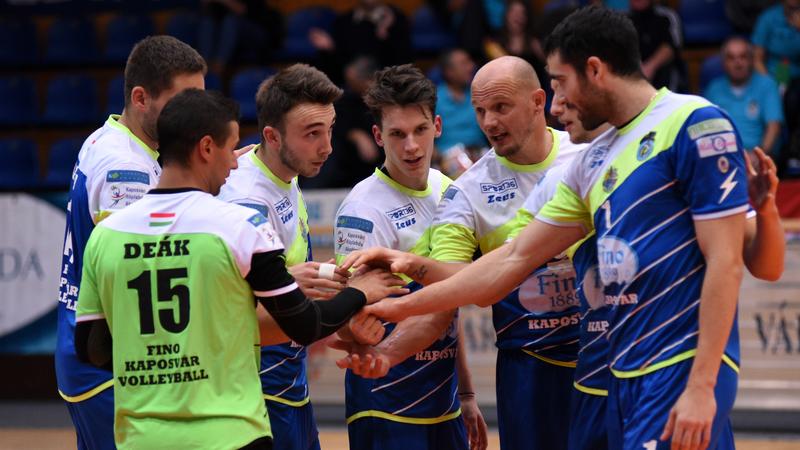 Kiélezett döntő vár a Fino Kaposvár együttesére.