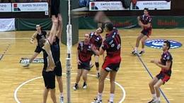 Két röplabda mérkőzés élőben