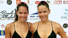 Kaposvári párosok a bibionei strandröplabda maratonon
