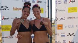 Kaposvári bronzérem a bibionei strandröplabda maratonon