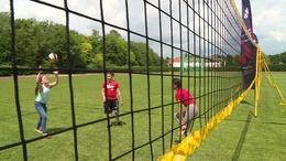Parkröplabdázással népszerűsítették a válogatott meccseket