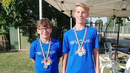 Ezüstöt nyertek a kaposvári strandröplabdázók