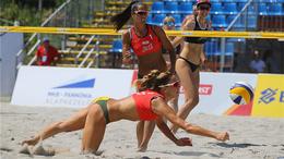 Strandröplabda: a nyolcaddöntőig meneteltek a kaposvári párosok