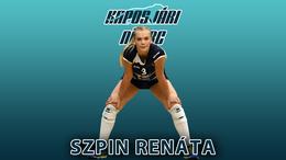 Szpin Renáta is marad Kaposváron