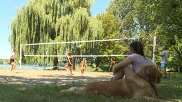 Beindult a strandröplabda-élet a Desedánál