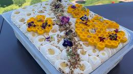 Méz és mandula is van a Balaton fagyijában