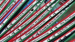 Elkészült az ország leghosszabb szurkolói sálja