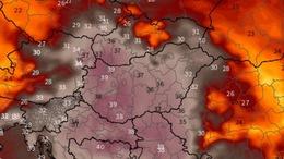 Újabb afrikai hőhullám érkezik