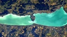 Így fest a Balaton a Nemzetközi Űrállomásról