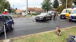 Két autó ütközött Fonyódnál