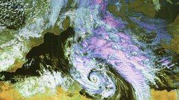 Mediterrán ciklon okoz változékony, helyenként csapadékos időt