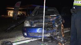 Ittasan okozott balesetet, ketten könnyebben megsérültek